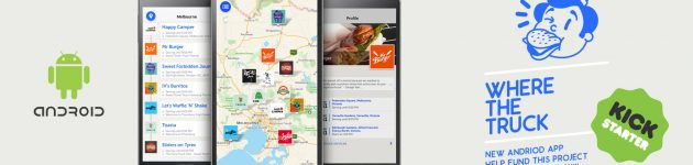 Where The Truck | Food Truck Finder | Andriod App